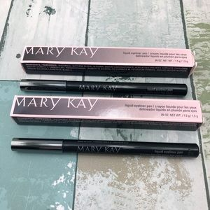 Lot Of 2 Mary Kay Liquid Eyeliner Pen Black NWT